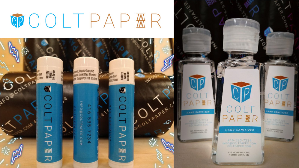 coltpaper promotional items