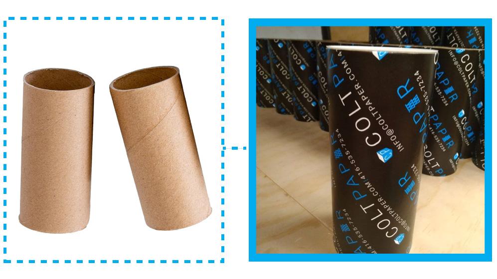 cardboard paper tubes