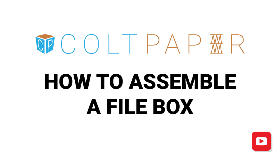 how-to-assemble-file-box-video
